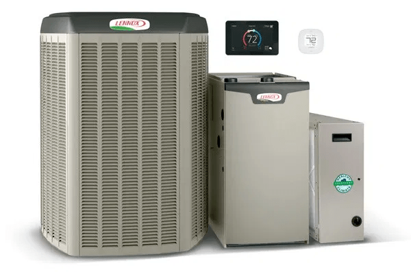 Three Emergency AC Residential HVAC Units